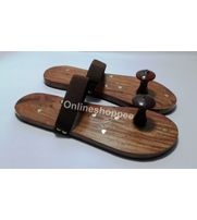 Wooden Khadau/Slipper for Mandir