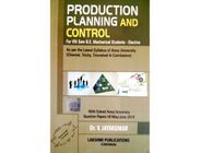 Production Planning and Control | Dr.V.Jayakumar