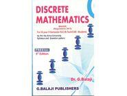 Discrete Mathematics | G. Balaji