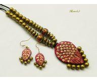Terracotta Jewelry - Terracotta Set TSH305c