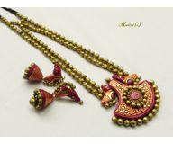 Terracotta Jewelry - Terracotta Set TSH616c