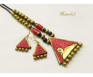 Terracotta Jewelry - Terracotta Set TSH200a