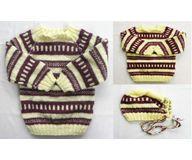 2 Years -  Handmade Baby Woolen Sweater Set BS30