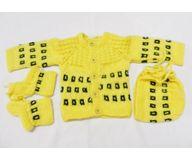 0-3 months - Handmade Baby Woolen Sweater Set BS05
