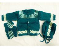 6 months- 1 year Handmade Woolen Sweater BS019