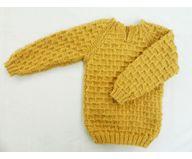 12 Months -  Handmade Baby Woolen Sweater Set BS25