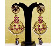 1Brass Alloy Earrings EJBA12