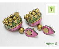 Terracotta Jewelry - Terracotta Earring TEA400a