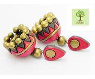 Terracotta Jewelry - Terracotta Earring TEA400d