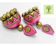 Terracotta Jewelry - Terracotta Earring TEA400f