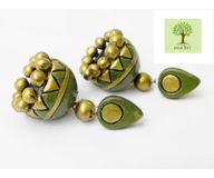 Terracotta Jewelry - Terracotta Earring TEA400h