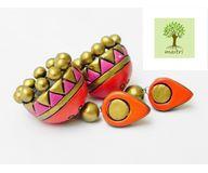 Terracotta Jewelry - Terracotta Earring TEA400j