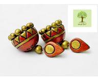 Terracotta Jewelry - Terracotta Earring TEA400k