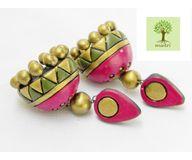 Terracotta Jewelry - Terracotta Earring TEA400l