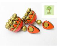 Terracotta Jewelry - Terracotta Earring TEA400o