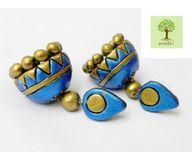 Terracotta Jewelry - Terracotta Earring TEA400q
