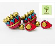 Terracotta Jewelry - Terracotta Earring TEA400r