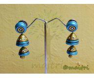 Terracotta Jewelry - Terracotta Earring TEAD100b