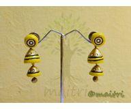 Terracotta Jewelry - Terracotta Earring TEAD100c