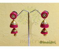 Terracotta Jewelry - Terracotta Earring TEAD100d