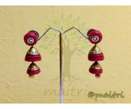 Terracotta Jewelry - Terracotta Earring TEAD100h