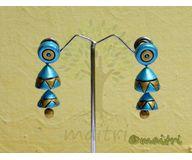 Terracotta Jewelry - Terracotta Earring TEAD101c