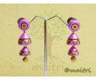 Terracotta Jewelry - Terracotta Earring TEAD101f