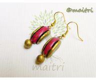Terracotta Jewelry - Terracotta Earring TEB109a