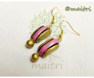 Terracotta Jewelry - Terracotta Earring TEB109d
