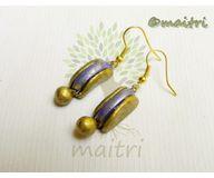Terracotta Jewelry - Terracotta Earring TEB109f