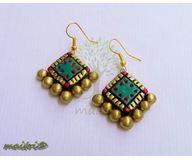Terracotta Jewelry - Terracotta Earring TEB214e