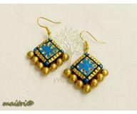 Terracotta Jewelry - Terracotta Earring TEB214i