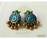 Terracotta Jewelry - Terracotta Earring TEB400PSa