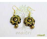 Terracotta Jewelry - Terracotta Earring TEB301b
