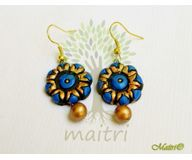 Terracotta Jewelry - Terracotta Earring TEB301c