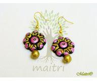 Terracotta Jewelry - Terracotta Earring TEB301g