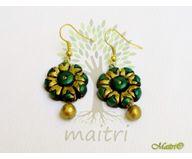 Terracotta Jewelry - Terracotta Earring TEB301h