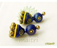 Terracotta Jewelry - Terracotta Earring TEB401a