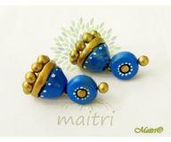 Terracotta Jewelry - Terracotta Earring TEB402b