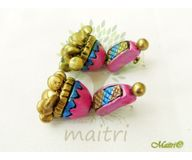 Terracotta Jewelry - Terracotta Earring TEB404b