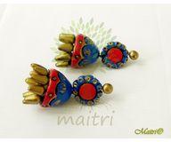 Terracotta Jewelry - Terracotta Earring TEB406b