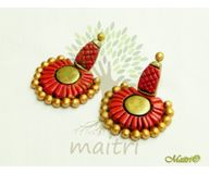 Terracotta Jewelry - Terracotta Earring TEB408a
