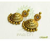 Terracotta Jewelry - Terracotta Earring TEB410a