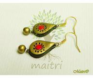 Terracotta Jewelry - Terracotta Earring TEC110a