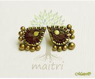 Terracotta Jewelry - Terracotta Earring TEC112a