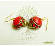 Terracotta Jewelry - Terracotta Earring TEC211e