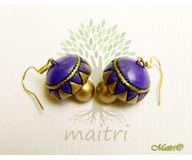 Terracotta Jewelry - Terracotta Earring TEC211g