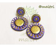 Terracotta Jewelry - Terracotta Earring TEC302f