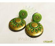 Terracotta Jewelry - Terracotta Earring TEC307e