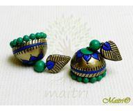 Terracotta Earring - Designer Jhumka TEC426